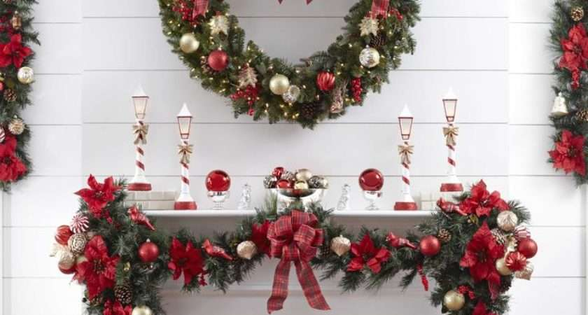 Ideas House Christmas Home Decorating Styles