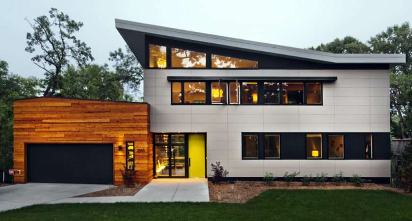 Ideas Large Modern White Wooden Wall House Grey