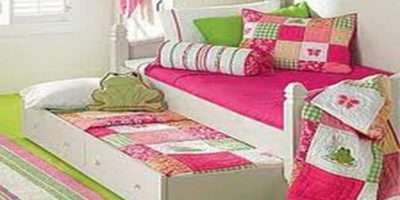 Ideas Little Girl Rooms Bed Storage Design Stroovi