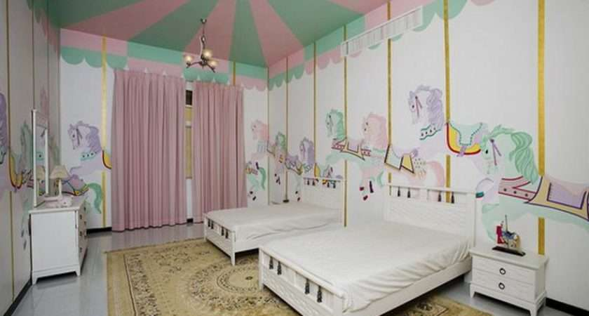 Ideas Little Girl Rooms Cool Decorating