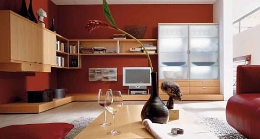 Ideas Living Room Decozilla Red Paint Color