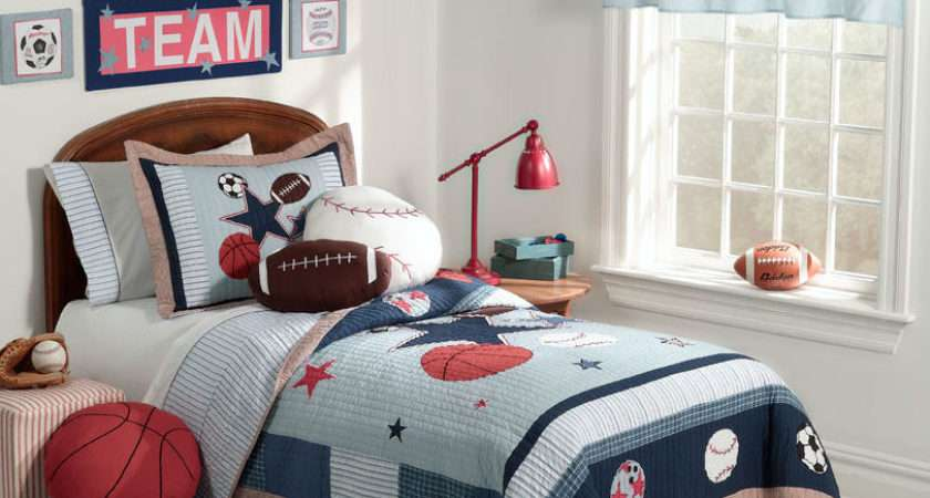 Ideas Sport Themed Bedrooms Home Decor Report