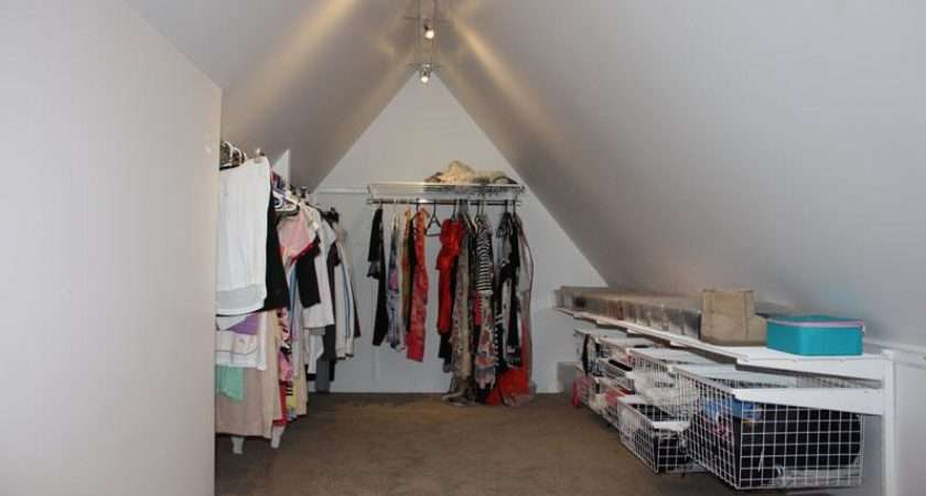 Ideas Your Attic Conversion Wardrobe