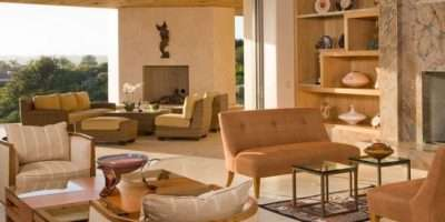 Idyllic Country Style Living Room Decoration