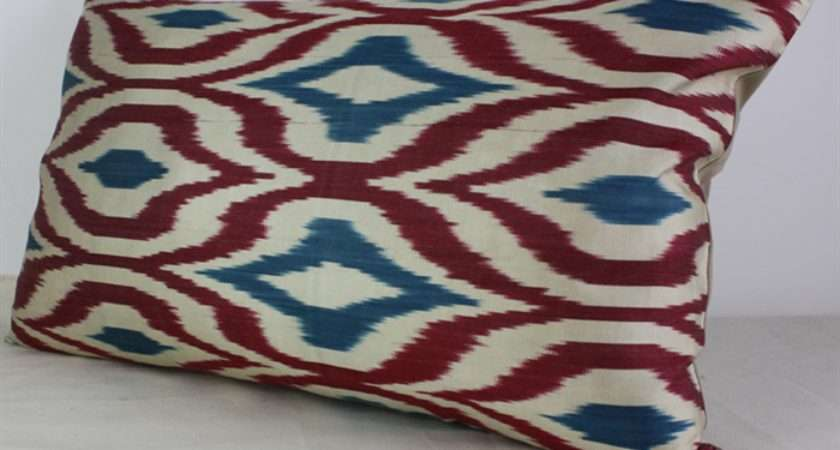 Ikat Handwoven Decorative Pillow Cushion Covers Sold London