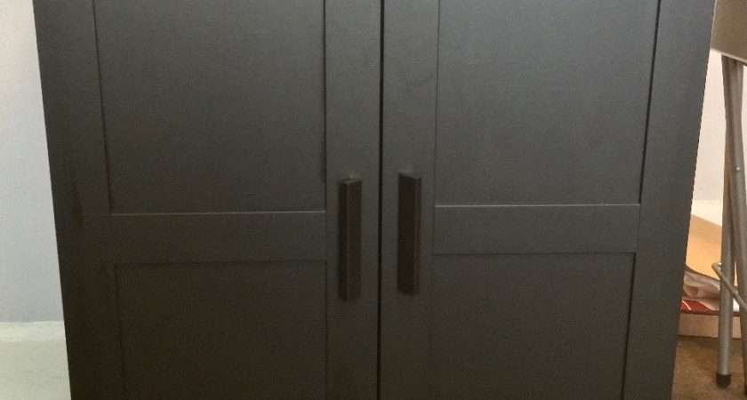 Ikea Brimnes Cabinet Doors Only Months Old Like
