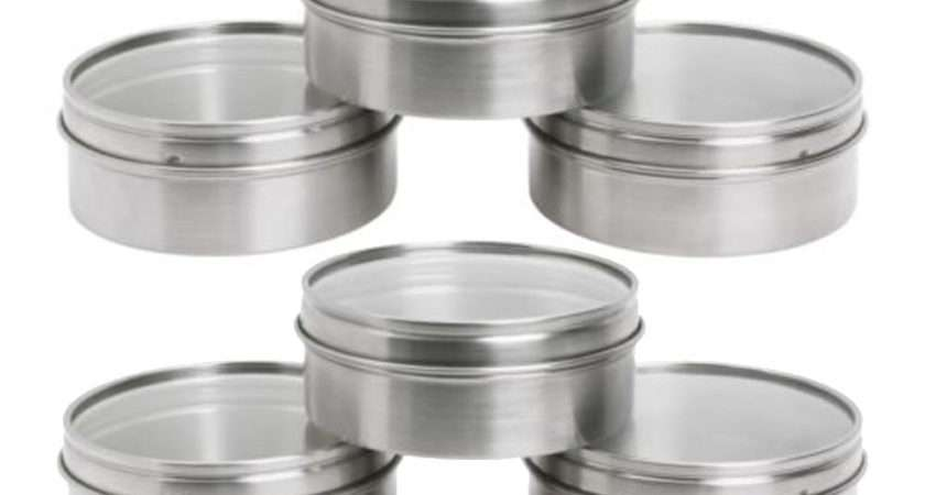 Ikea Grundtal Magnetic Stainless Steel Spice Storage