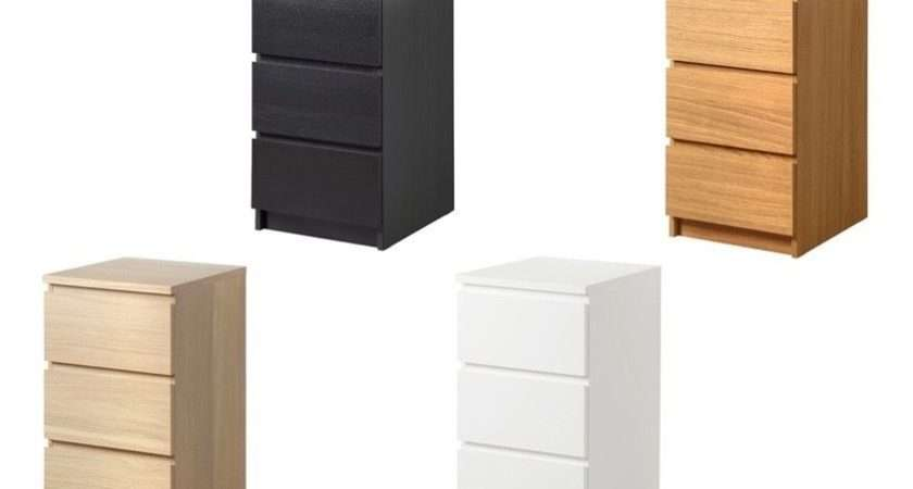 Ikea Malm Chest Drawers Bedside Table Various