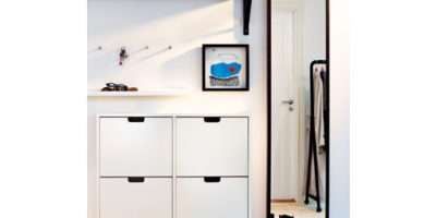 Ikea Stall Shoe Cabinet Compartments Storage