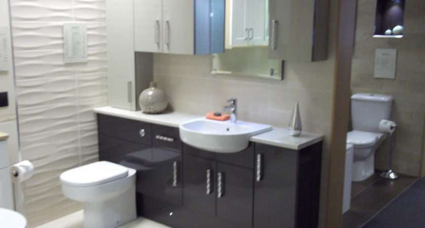 Ikon Gloss Caramel Graphite Fitted Furniture Best