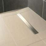 Impey Wetroom Floor Constructed Using Linear Wet Room Former