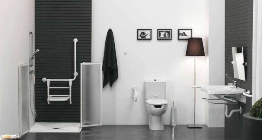 Imposing Bathroom Design Ideas Black White Pretty