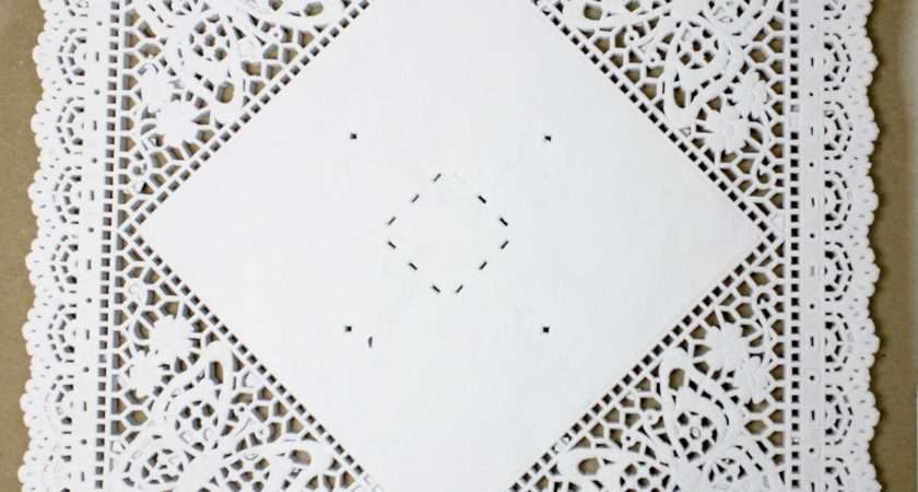 Inch Square Paper Doilies