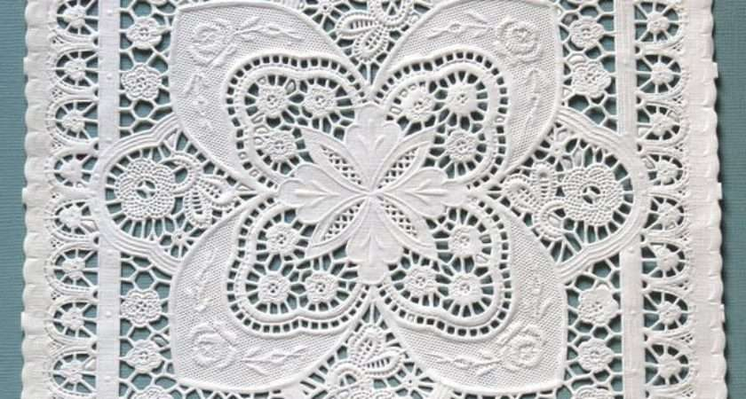 Inch Square Paper Lace Doilies Ideal