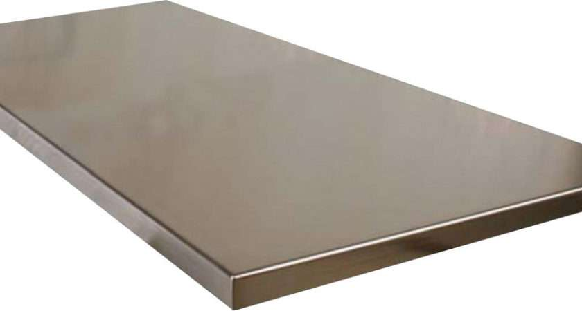 Inch Stainless Steel Wrapped Welded Workbench Tops