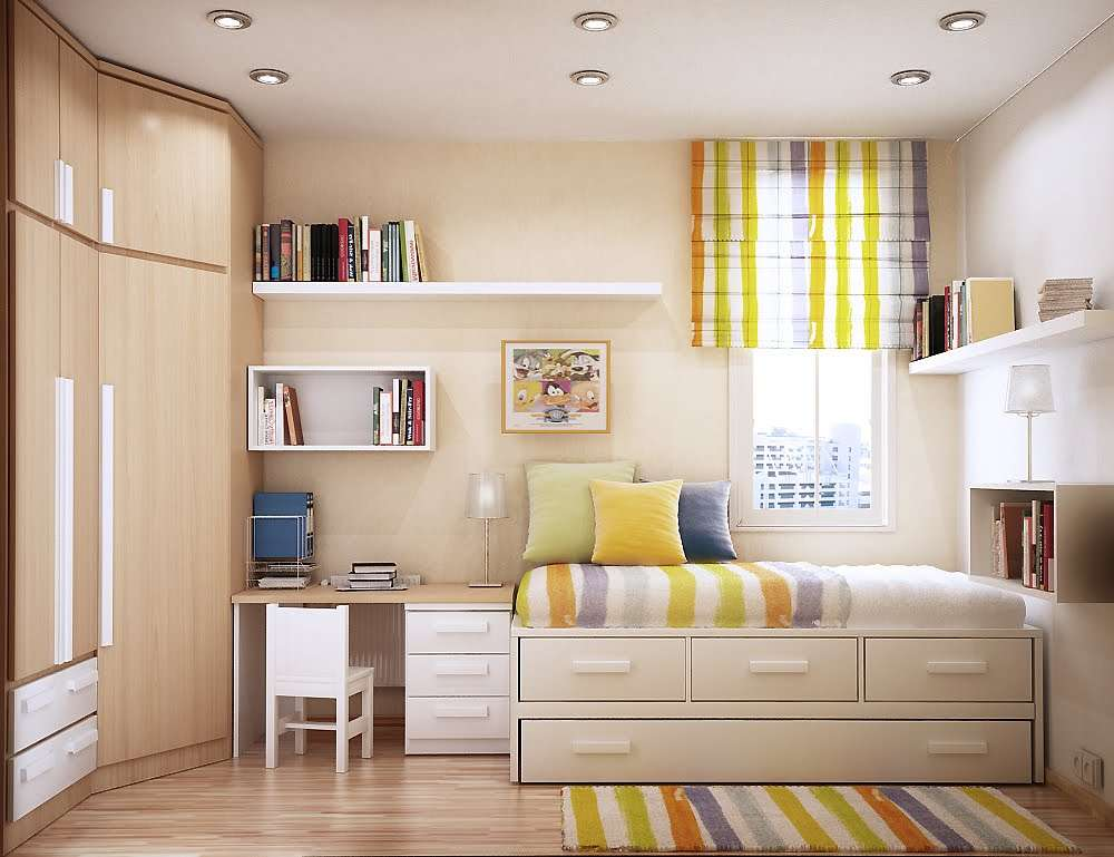 Includes Natural Light Ample Storage Comfortable Lounging