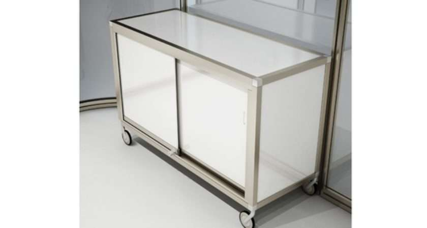 Including Storage Units Shelves Fitted Poseur Table White Board