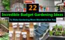 Incredible Budget Gardening Ideas Garden