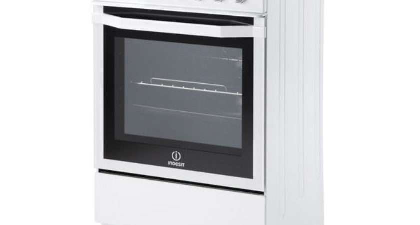 Indesit Eshw Electric Cooker White