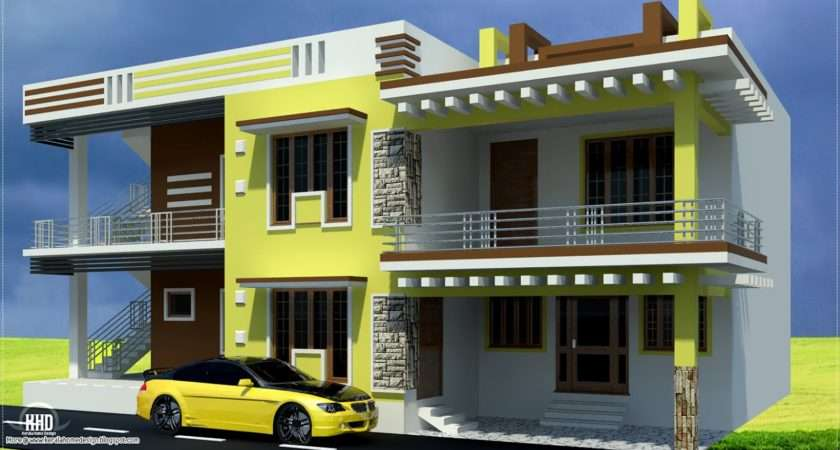 Indian House Designs Photos Middle Class Style
