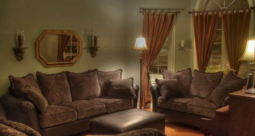 Indoor Interior Brown Sofa Christian Home Decorating Ideas Living