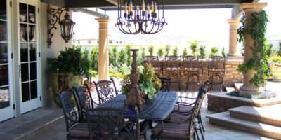 Indoor Outdoor Dining Room One Total Photos Contemporary