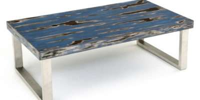 Industrial Coffee Table Metal Contemporary