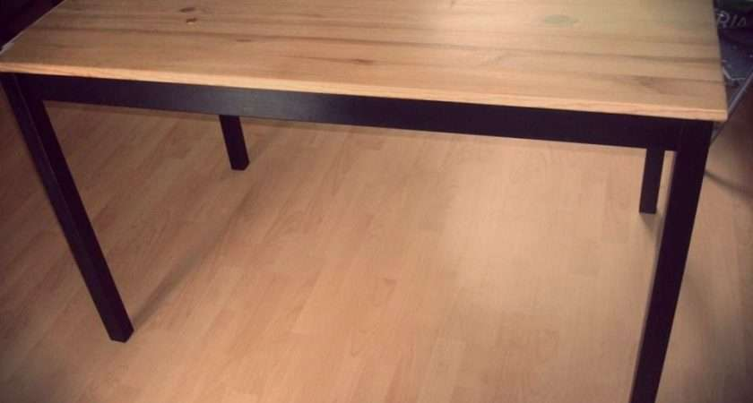 Industrial Dining Table Simple Ikea