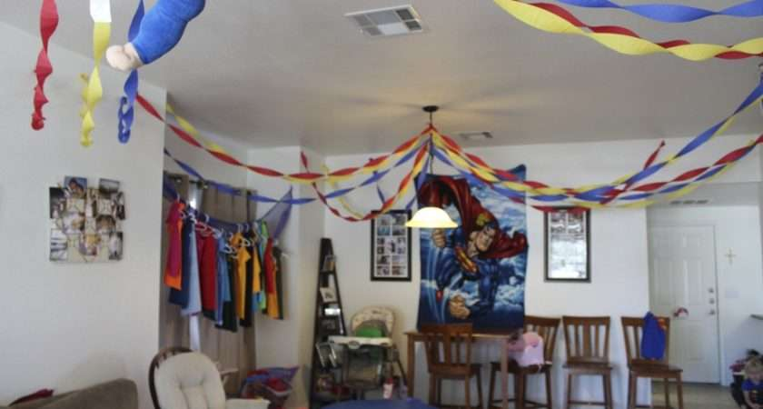 Inside House Birthday Party Decoration