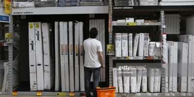 Inside Kingfisher Plc Diy Home Improvement Store Getty