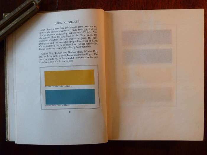 Inside Pages Filled Beautifully Crafted Colour Charts