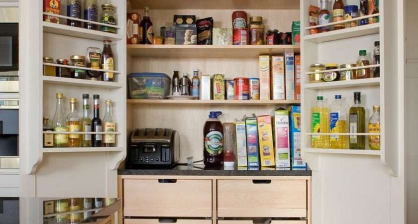 Inspired Larder Pantry Cupboards Practical Storage Can