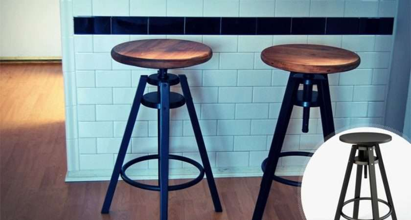Inspired Stools Upgrade Ikea Dalfred Stool Screwing Wood Pine