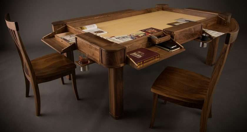 Inspired These Diy Board Gaming Tables Lifehacker