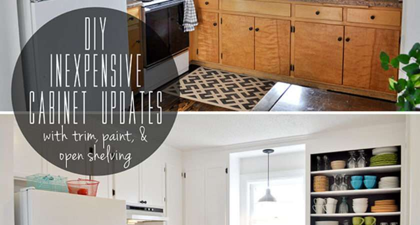 Inspiring Diy Kitchen Cabinets Simple Yourself