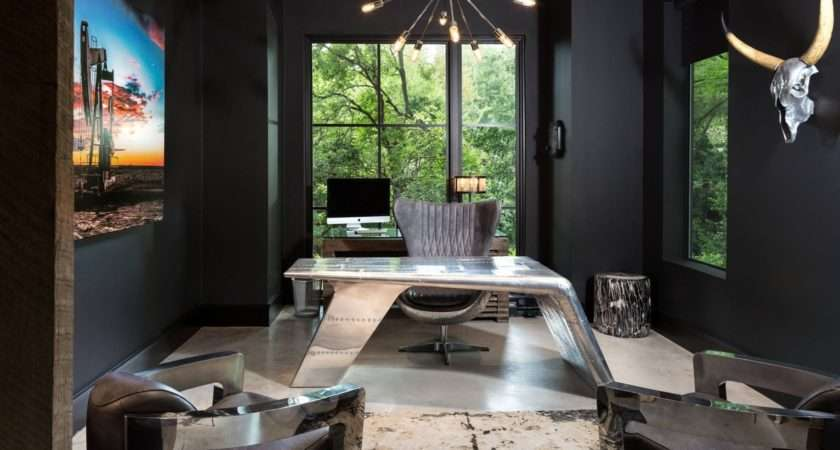 Inspiring Industrial Style Home Offices Sport