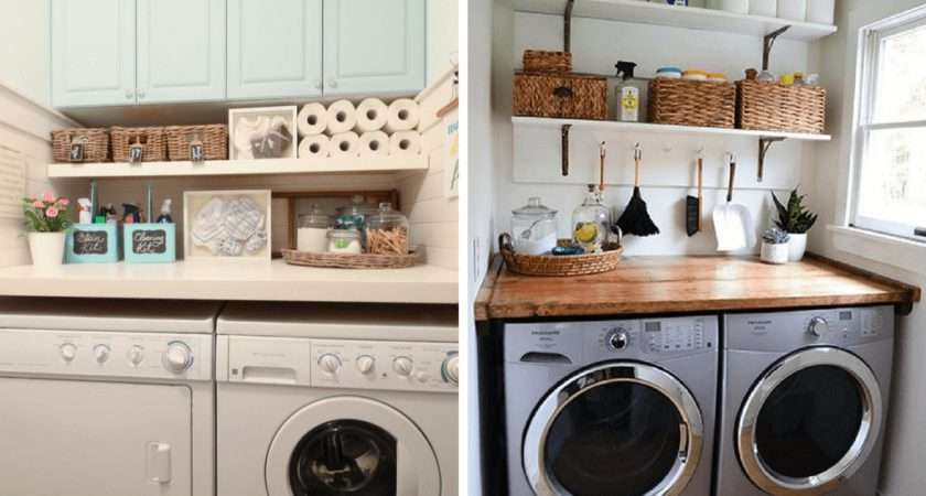 Inspiring Small Laundry Room Ideas Love Renovations
