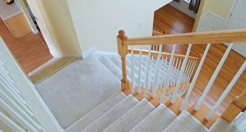 Install Carpet Stairs Landing