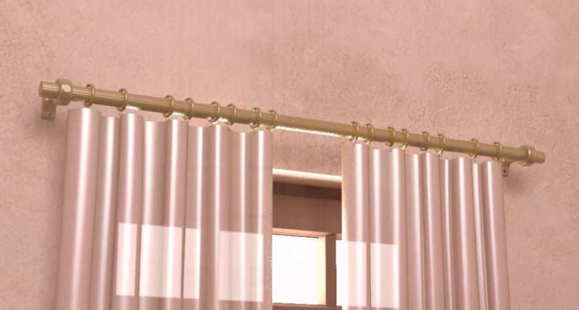 Install Curtain Rods Steps
