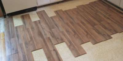 Install Tile Flooring Bathroom