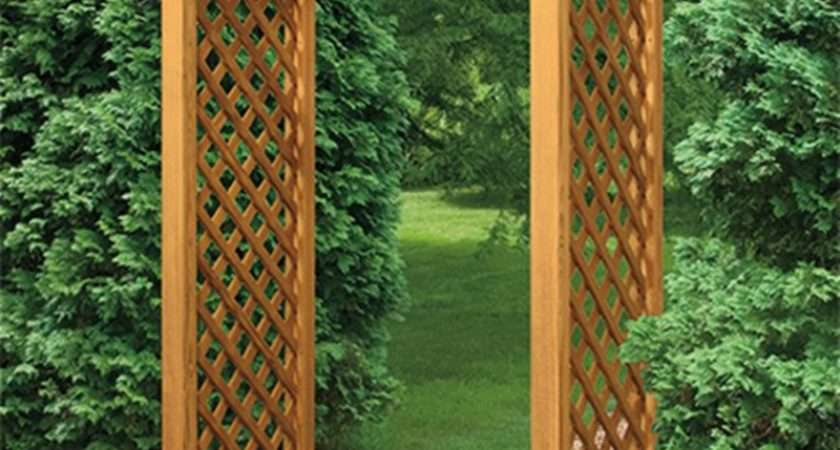 Interesting Garden Arches Adorning Your Wooden