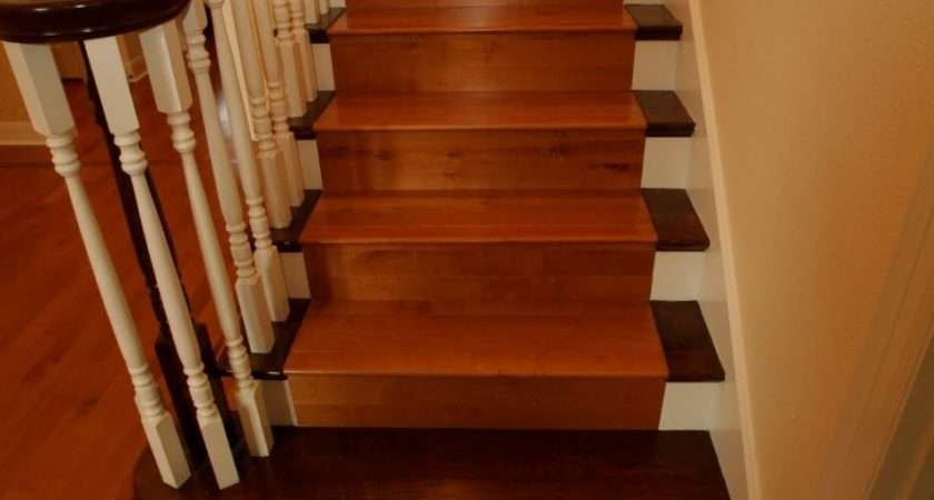 Interior Awesome Staircase Design Ideas Dark Brown
