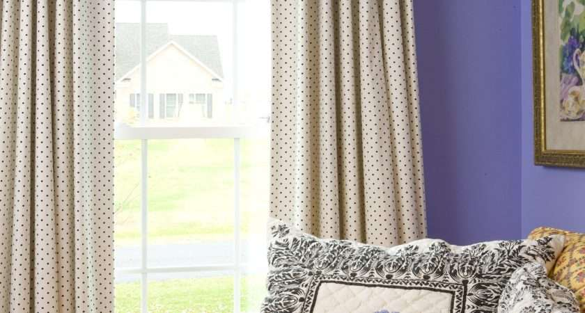 Interior Charming Curtain Ideas Large Windows Covered