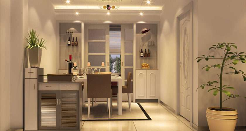 Interior Design Dining Room Wine Cabinet Doors