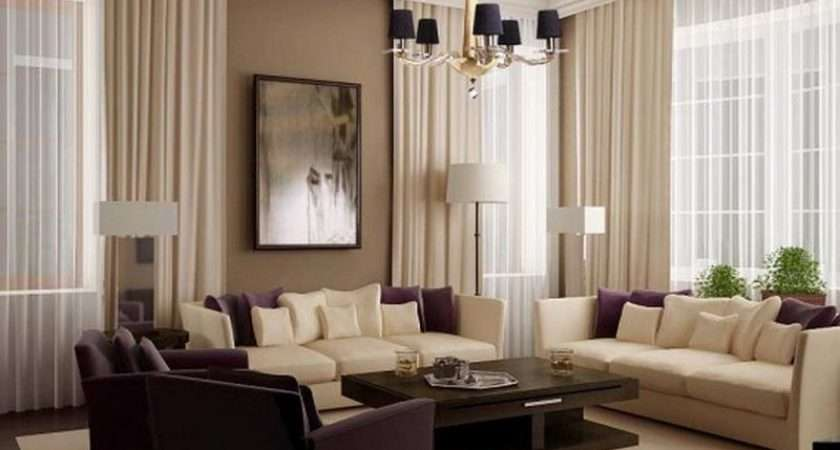 Interior Wall Paint Color Schemes Comfortable Living Room