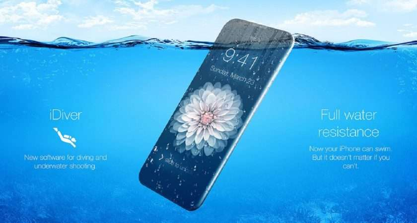 Iphone Beautiful Concept Models Water Resistant