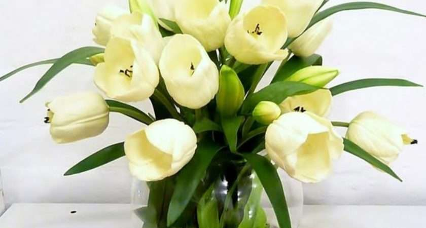 Items Similar Real Touch White Tulip Artificial Flower