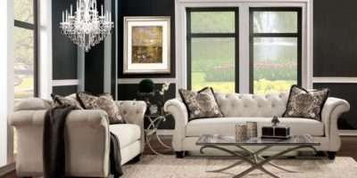 Ivory Living Room Furniture Sets Ashley
