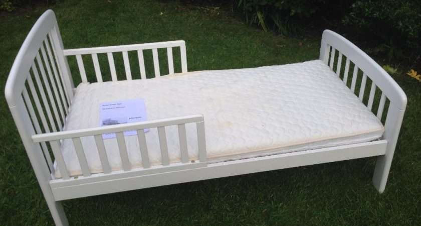 John Lewis Anna Junior Bed White Side Rails Warrington