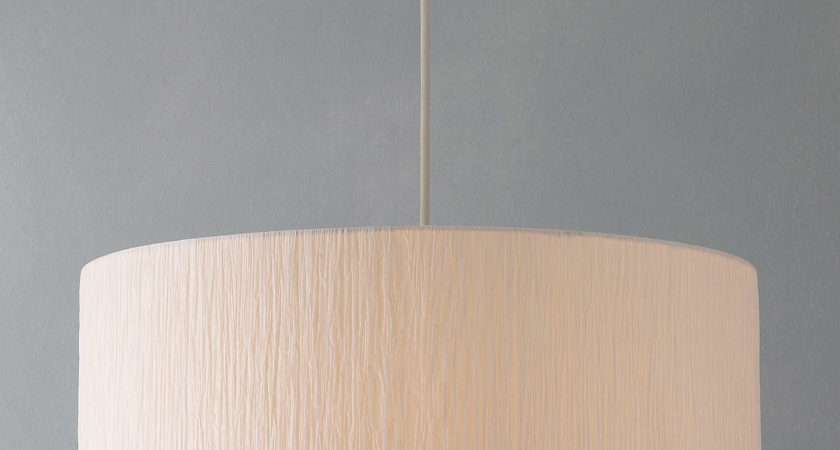 John Lewis Easy Fit Libby Ceiling Shade Natural